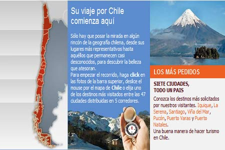 Mapa Welcome Chile