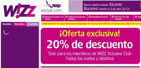 ofertas wizzair